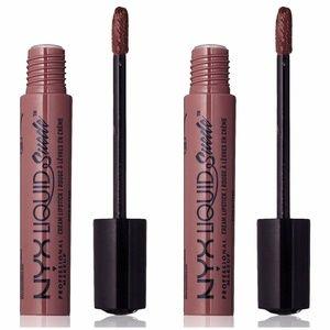 2-Pack NYX Brooklyn Thorn Liquid Suede Lip Creams